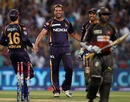 Jacques Kallis is pleased after sending Parthiv Patel back