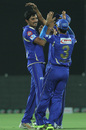 Siddharth Trivedi picked up two wickets, Rajasthan Royals v Kings XI Punjab, IPL, Jaipur, April 14, 2013