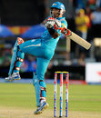 T Suman plays a hook shot, Pune Warriors v Sunrisers Hyderabad, IPL, Pune, April 17, 2013