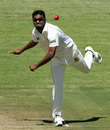 Enamul Haque jr toiled through 29 overs, Zimbabwe v Bangladesh, 1st Test, Harare, 1st day, April 17, 2013