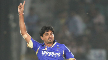 Siddharth Trivedi picked up the crucial wicket of Rohit Sharma