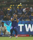Brad Hodge took a catch in the deep to dismiss Dinesh Karthik, Rajasthan Royals v Mumbai Indians, IPL 2013, Jaipur, April 17, 2013