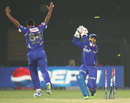 Harbhajan Singh was run-out by Dishant Yagnik, Rajasthan Royals v Mumbai Indians, IPL 2013, Jaipur, April 17, 2013