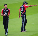 Alastair Cook sets the field for James Anderson, England v Sri Lanka, 3rd ODI, Lord's, July 3, 2011