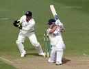 Laurie Evans fell six runs short of a half-century, Warwickshire v Durham, County Championship, Division One, Edgbaston, 1st day, April 17, 2013