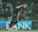 Morne Morkel completes his action, Delhi Daredevils v Chennai Super Kings, IPL, Delhi, April 18, 2013