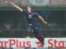 Morne Morkel leaps to field the ball, Delhi Daredevils v Chennai Super Kings, IPL, Delhi, April 18, 2013