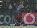 Ajit Agarkar dropped MS Dhoni, Delhi Daredevils v Chennai Super Kings, IPL, Delhi, April 18, 2013