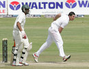 Keegan Meth picked up a couple of wickets, Zimbabwe v Bangladesh, 1st Test, Harare, 3rd day, April 19, 2013