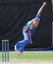Christi Viljoen took three wickets for 43 runs, Namibia v Netherlands, ICC World Cricket League Championship, Windhoek, April 18, 2013