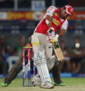 Piyush Chawla smashed two sixes in his 15, Sunrisers Hyderabad v Kings XI Punjab, IPL, Hyderabad, April 19, 2013