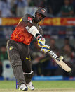 Thisara Perera hit three sixes in the 19th over, Sunrisers Hyderabad v Kings XI Punjab, IPL 2013, Hyderabad, April 19, 2013