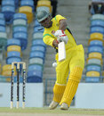Brenton Parchment top-scored for Jamaica with 86, Jamaica v Windward Islands, semi-final, Regional Super50, Bridgetown, April 19, 2013