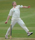 Matthew Hoggard prepares to deliver, Hampshire v Leicestershire, County Championship, Division Two, Southampton, April 11, 2013