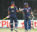Virender Sehwag and Mahela Jayawardene added 151 for the first wicket