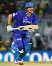 Shane Watson runs for a quick single