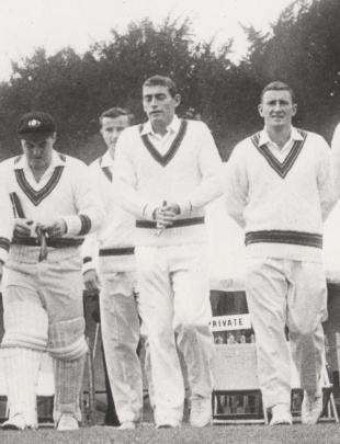 The 1964 Ashes tour began promisingly for Potter but ended with a crack on the head