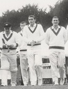 Jack Potter along with his Australian team-mates during the 1964 Ashes, Arundel, 1964