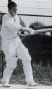 Jack Potter practices in the nets