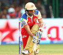 Tillakaratne Dilshan sweeps one fine, Royal Challengers Bangalore v Pune Warriors, IPL, Bangalore, April 23, 2013
