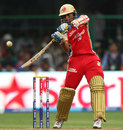 Tillakaratne Dilshan flays one to the off side, Royal Challengers Bangalore v Pune Warriors, IPL, Bangalore, April 23, 2013