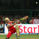 AB de Villiers hits to the leg side