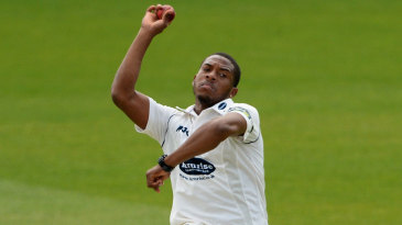 Chris Jordan was back at his old county