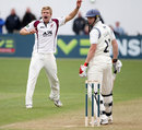 David Willey again impressed with 4 for 71, Gloucestershire v Northamptonshire, County Championship, Division Two, Bristol, 1st day, April 24, 2013