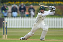 Alex Hales on his way to a half-century, Derbyshire v Nottinghamshire, County Championship, Division One, Derby, 2nd day, April 25, 2013