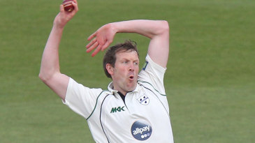 Alan Richardson picked up a wicket towards the end of the day