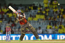 Ashish Reddy hits out , Chennai Super Kings v Sunrisers Hyderabad, IPL, Chennai, April 25, 2013