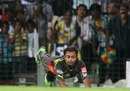 Amit Mishra dropped MS Dhoni when he was on 0, Chennai Super Kings v Sunrisers Hyderabad, IPL, Chennai, April 25, 2013
