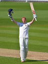 Luke Wells reached his maiden double hundred, Surrey v Sussex, County Championship, Division One, The Oval, 3rd day, April 26, 2013