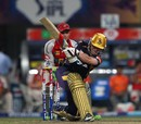 Eoin Morgan scored 42 off 26 balls, Kolkata Knight Riders v Kings XI Punjab, IPL, Kolkata, April 26, 2013