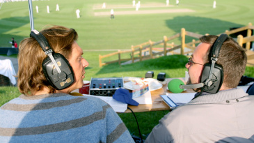 BBC Radio London commentators cover the county match