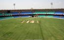 The stadium in Raipur gets ready to host its first IPL match, April 27, 2013