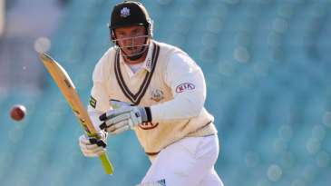 Graeme Smith reached 43 not out, approaching his first Surrey fifty