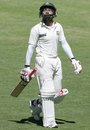 Mushfiqur Rahim walks off after falling for 93