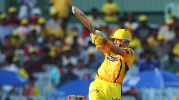 Michael Hussey reached his fifty off 31 balls