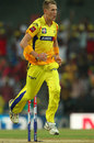 Chris Morris celebrates after bowling Gautam Gambhir, Chennai Super Kings v Kolkata Knight Riders, IPL, Chennai, April 28, 2013