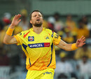 Dirk Nannes leaked 18 runs in his first over, Chennai Super Kings v Kolkata Knight Riders, IPL, Chennai, April 28, 2013
