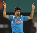 Rahul Sharma dismissed Unmukt Chand, Delhi Daredevils v Pune Warriors, IPL, Raipur, April 28, 2013