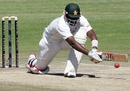 Hamilton Masakadza plays the reverse sweep