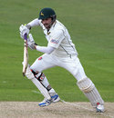 Ed Cowan made a brisk 40, Nottinghamshire v Durham, County Championship, Division One, Trent Bridge, 1st day, April 29, 2013