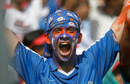 A Mumbai fan enjoys the game, Mumbai Indians v Chennai Super Kings, IPL 2012, Mumbai, May 6, 2012