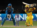 S Badrinath plays through the off side, Pune Warriors v Chennai Super Kings, IPL, Pune, April 30, 2013