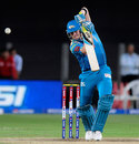 Steve Smith punches to the off side, Pune Warriors v Chennai Super Kings, IPL, Pune, April 30, 2013