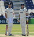 England colleagues Jonathan Trott and Ian Bell added 131 together