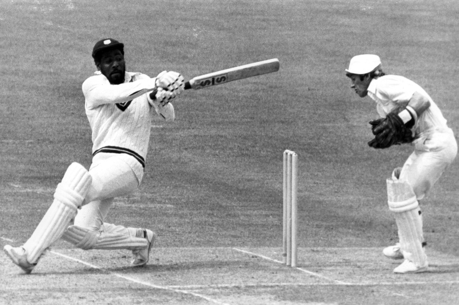 Richards scored centuries in three of the four World Cups he played
