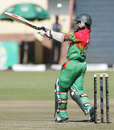 Mohammad Ashraful clubs one to the boundary, Zimbabwe v Bangladesh, 1st ODI, Bulawayo, May 3, 2013